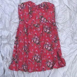 Strapless dress xhiliration size xl